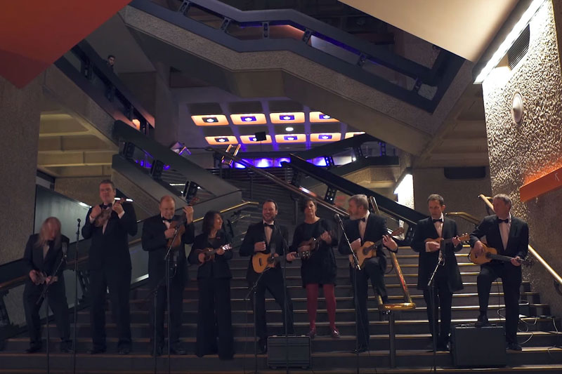 The Ukulele Orchestra of Great Britain - Barbican Sessions #4: Highway to Hell